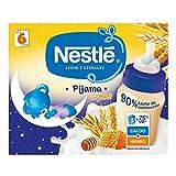 Nestlé Leche y Cereales con Miel Pijama - Paquete de 6x2 unidades de 250ml