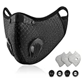 Sports Dust Mask Reusable Anti Dust Unisex Mouth Face Filter...
