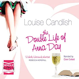 The Double Life of Anna Day audiobook cover art