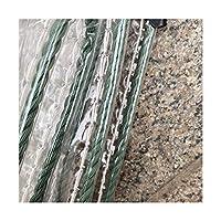 防水シートソフトガラスサンプロテクション耐寒性PVCパーゴラとアイレット付きパティオカバー吊り下げが簡単、カスタマイズ可能(色:クリア、サイズ:2.5x6m)
