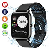ZIYOR Fitness Tracker, Activity Tracker Watch with 1.4'' Full Touch Heart Rate Monitor