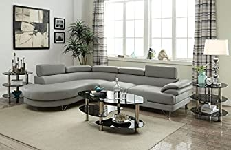 Best bobkona leather sectional Reviews