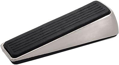 Deurstoppers Deurstopper rubberen deur wig roestvrij staal en rubber zware niet-krassende en antislip-deurstop FYZS (Color...