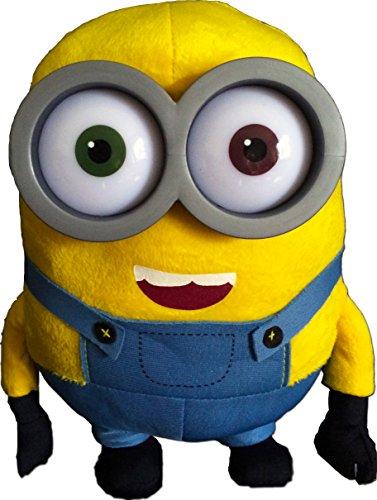 Minions 26 cm Plüschfigur'Bob' (mit Kunststoffaugen) - Minions Plüsch - Ich Einfach Unverbesserlich Film - Despicable Me 2