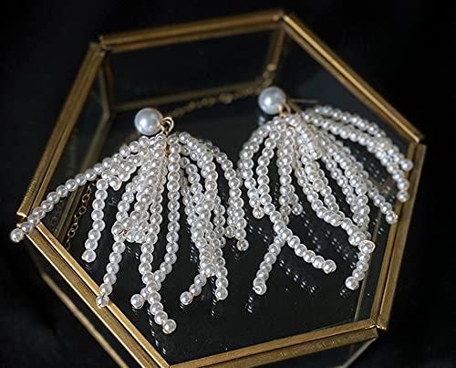YCSX Velo Novia Hechiceros Historías Headwear Pearls Havenas con Cuentas Hairbands para...