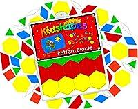 Barker Creek LM-2300 Learning Magnets - KidUSA Kidshapes Pattern Blocks
