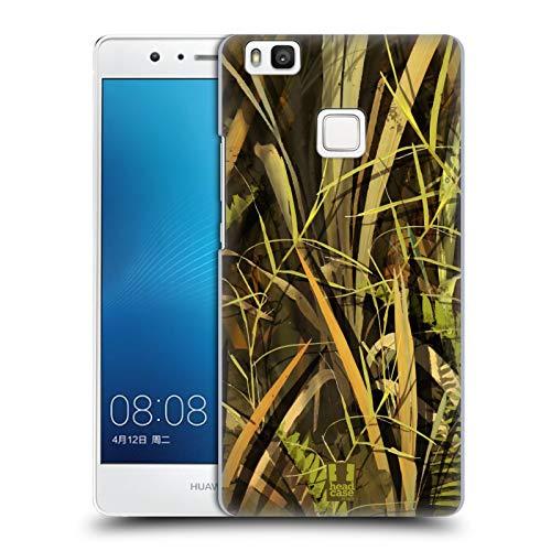 Head Case Designs Pato Mojado/Temporada de Aves Acuáticas Insignia de Camuflaje Hunting Carcasa rígida Compatible con Huawei P9 Lite / G9 Lite