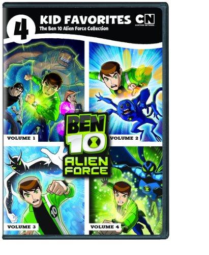 4 Kid Favorites Cartoon Network Classic Ben 10 Alien Force