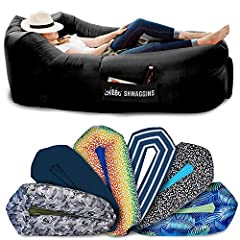 🎁 TAKE YOUR INFLATABLE COUCH ANYWHERE. Perfect as a gift for Campers, Hikers and Outdoor Lovers. The Chillbo Shwaggins inflatable lounger is available in 12 unique patterns. Don't be caught lounging in something boring. Chillbo's blow-up couch makes ...