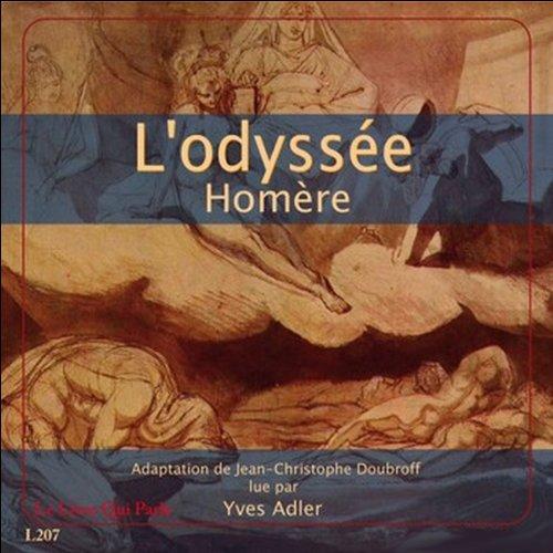 L'odyssée  audiobook cover art