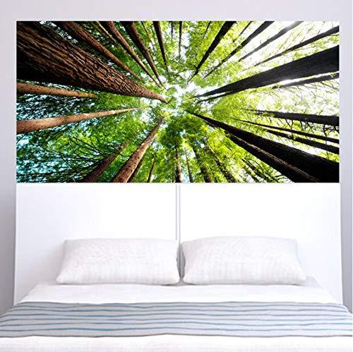 YANFLY Creative Color Forest Mesitas de Noche Personalidad Hogar Moda Decorativo Pegatinas de Pared 180 * 90CM