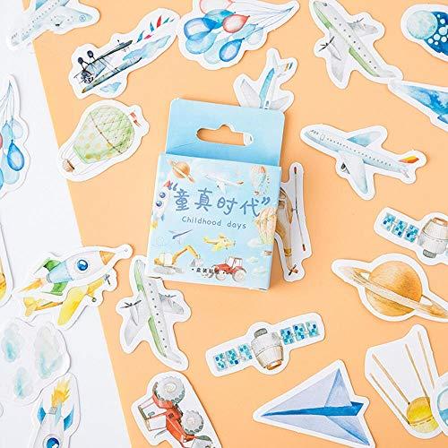 45 PCS/Box Green Oxygen Life Washi Aufkleber Dekorative Kawaii Briefpapier Blume Weihnachtsaufkleber Scrapbooking DIY Tagebuch Album