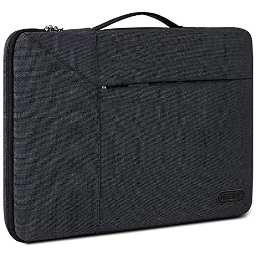 "Borsa Porta PC 14 Pollici Custodia PC Impermeabile Antiurto Borsa per Laptop Notebook Ultrabook Portatile Ventiquattrore per MacBook Air 13"",MacBook Pro 15 Pollici 2019/2018/2017/2016,Nero"