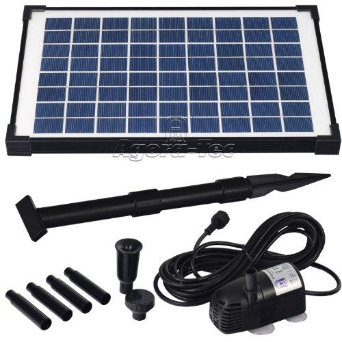 Agora-Tec® AT-10W Solar Teichpumpe thumbnail