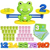 Inpher Balance Math Game, 82 Piece STEM Math Toy Counting Toy Frog Number Educational Learning Tool...