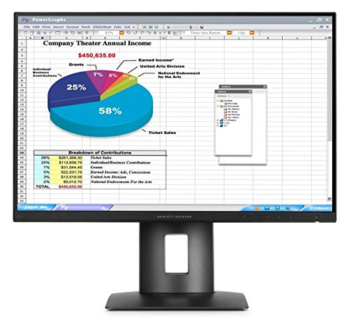 "Monitor HP Z24n 24"" FullHD 1920x1200 DVI HDMI Display Port MiniDP USB Black - Grado A"