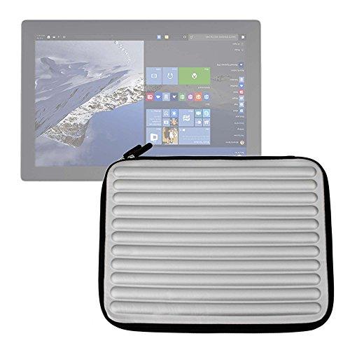 DURAGADGET Funda Gris con Espuma de Memoria Memory Foam para Tableta Gráfica Wacom Intuos 3D / Wacom PTH-451-ENES Intuos Pro S - ¡Protección Ideal!