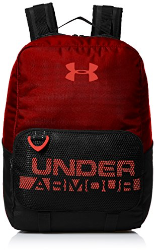 Under Armour Boys' Armour Select Backpack, Rapture Red (620)/Neon Coral, One Size Fits all