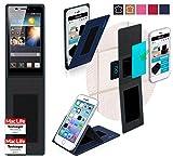 Hülle für Huawei Ascend P6 S Tasche Cover Hülle Bumper   Blau   Testsieger