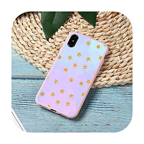 Moda caramelo patrón colorido teléfono caso caramelo color para iPhone 11 12 mini pro XS MAX 8 7 6 6S Plus X 5S SE 2020 XR cubierta funda-a8-iPhone12 12PRO