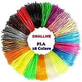 SHALLWE Filamento PLA diametro 1,75 mm, Filamento PLA Stampa 3D per Penna 3D, Precisione D...