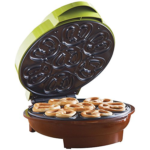 na Mi Brentwood Ts-251 8.75' X 9.75' X 4.5' Mini Pretzel Maker Assorted Colors