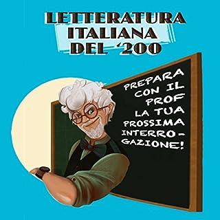 Letteratura italiana del '200 copertina