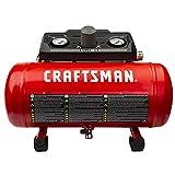 Craftsman 1.5 Gallon 3/4 HP Portable Air Compressor, Max 135 PSI, 1.5...