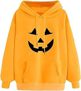 LEKODE Women Sweatshirt Fashion Printed Hooded Long Sleeve Tops
