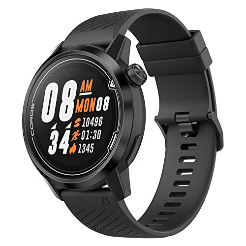 Read About Coros APEX Premium Multisport GPS Watch with Heart Rate Monitor, 35h Full GPS Battery, Sa...