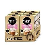 Nescafé Gold Chocolate Blanco Cappuccino - 6 Estuches De 8 Sobres