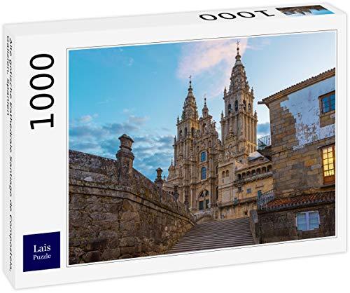Lais Puzzle Antigua Catedral gótica de Santiago de Composte