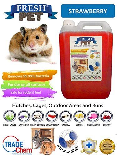Trade Chemicals 5L FRESH-PET - Jaula desinfectante para conejos