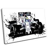 Canvas Culture–Felipe Massa Formula One Leinwand Wand