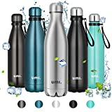 Umi. by Amazon - Botella Agua Acero Inoxidable, Termo 750ml, Sin BPA, Islamiento...