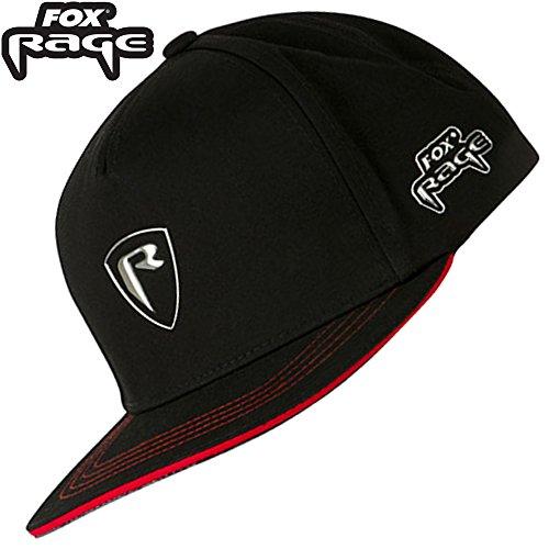 Fox Rage Shield Flat Peak Baseball Cap - Cappy für Angler, Schirmmütze für Spinnangler, Angelcap, Anglercap, Angelmütze
