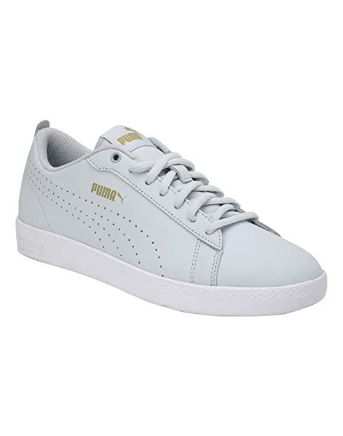 Buy Puma Women's Smash WNS V2 L Perf Plein Air Leather Sneaker at ...