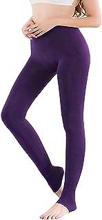 Vertvie 1/3/5er Pack Damen Thermo Strumpfhose Leggings mit Innenfleece für Herbst Winter Super Strech Warm Blickdichte Leggins