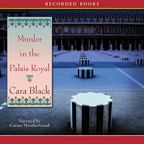 Murder in the Palais Royal audiobook cover art