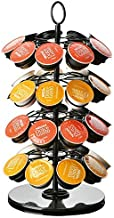 Joyevic Nespresso Dolce Gusto K-Cup Caffitaly Coffee Capsules Capsule Rack Rotary Capsule Tower Stand Practical Coffee Cap...