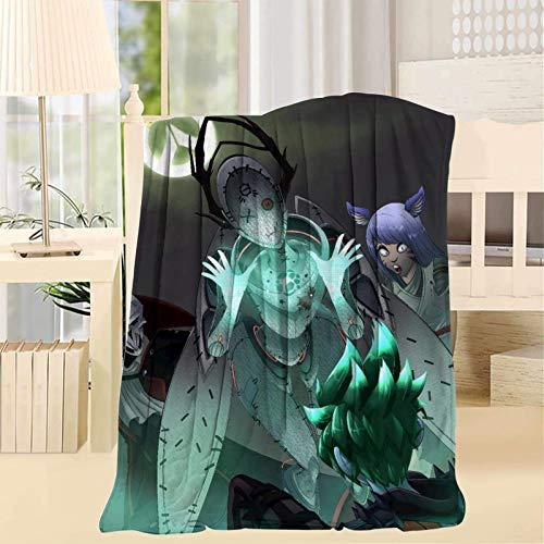 Gypsophila Overw-atch Heroes - Manta de microforro polar ultra suave, cómoda manta de microfibra, impresión 3D, ligera, manta decorativa para sofá para familias, manta de 50 x 152 cm