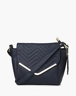 Nelle Harper PU Leather Latest Fashion Handbags for Women's (Navy Blue)