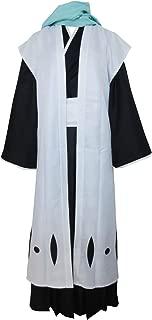 Captain of The 6th Division Byakuya Kuchiki Kimono Full Set Cosplay Costume