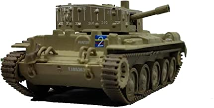 EP-Toy Model Toys, World War II Arms Allied Cromwell MK. IV Cromwell Cruise Tank Finished Model, Vintage Military Decorative Souvenir