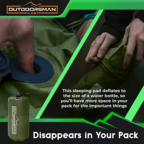 outdoorsman lab sleeping pad comparison