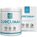 Piulife Cúrcuma+ ● 120 Cápsulas de 700 Mg + Jengibre + Pimienta Negra de Alta Biodisponibilidad ● Potente Quemagrasas, Antioxidante y Antiinflamatorio Con Curcumina y Piperina en Dosis Altas