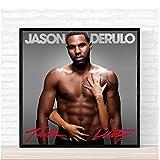 KONGQTE Jason Derulo Talk Schmutziges Musikalbum Cover Art