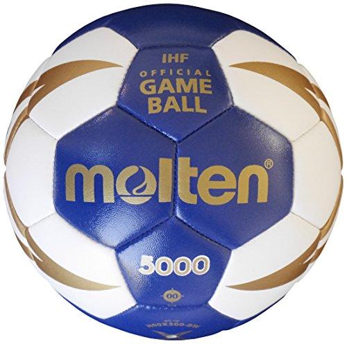 Molten Kinder H00X300-BW Handball, Blau, One Size