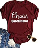 The Chaos Coordinator tee shirt: Unique gifts for mom