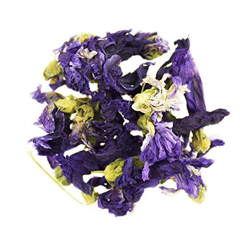 100g Malvenblüten Tee (Malva sylvestris L.) von Herbathek (Premium Bio-Qualität) | Hochwertiger Tee in Markenqualität